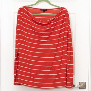 Banana Republic Boatneck LS Top